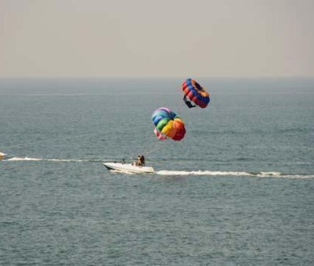 Goa_goa_water Sports In Goa_parasailing