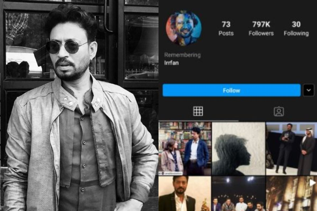 After Sushant Singh Rajput, Irrfan Khan's Instagram Account Gets Memoralised 37