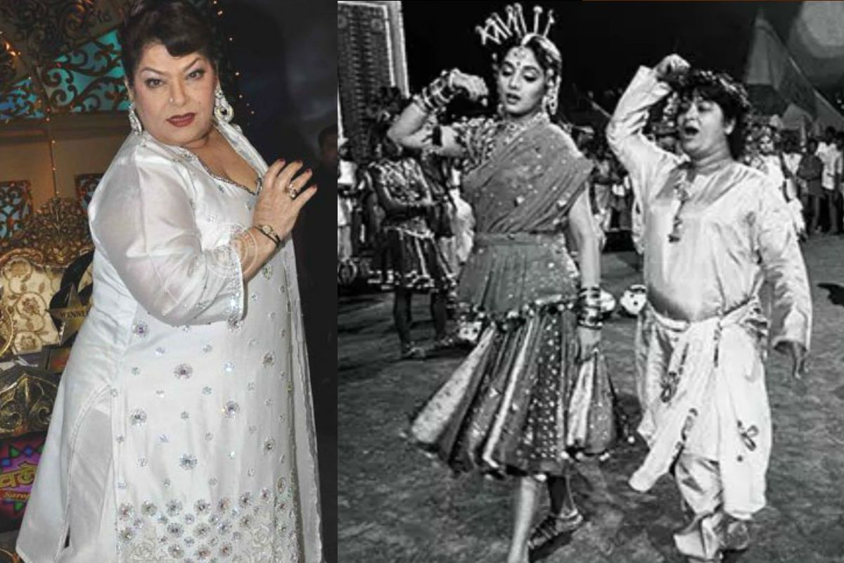 Saroj Khan's Last Interview: Her Love For Madhuri Dixit And The Art of Dance in Bollywood | Exclusive 156