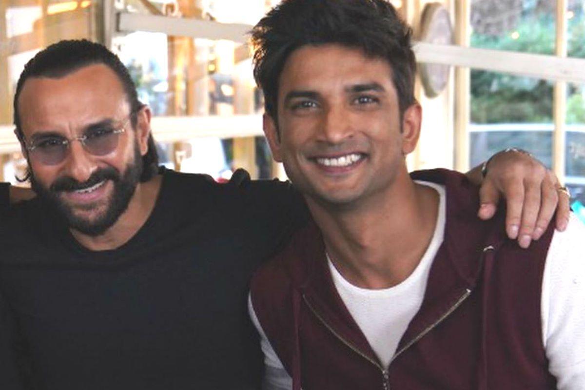 Sara Ali Khan Posts Unseen Photos of Saif Ali Khan And Sushant Singh Rajput From Sets of Dil Bechara 3