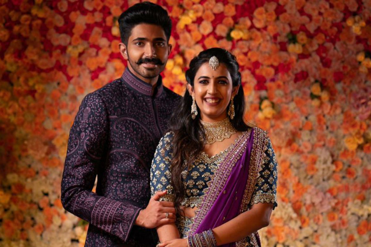 Telugu Actor Niharika Konidela Gets Engaged to Chaitanya JV in a Low-Key Ceremony