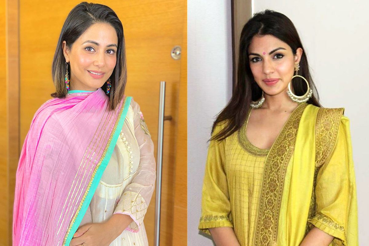 Hina Khan Talks About Rhea Chakraborty's Media Trial in SSR Case, Says 'You May Damage Her Career Forever'