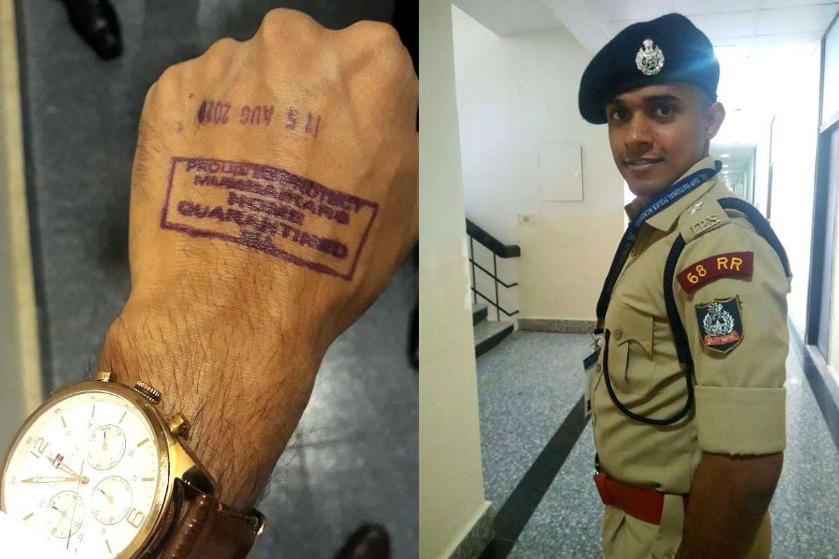 Mumbai Police on IPS Vinay Tiwari: BMC Put Him Under Quarantine, Not us