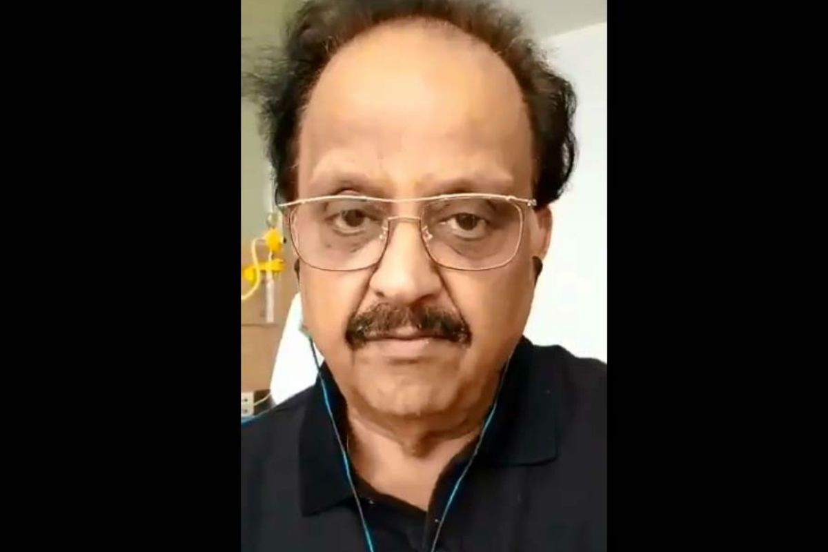 SP Balasubrahmanyam in ICU: India Prays For The Legendary Singer as His Sister Says He's Stable