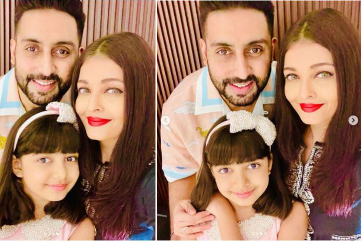 Aishwarya Rai Bachchan Shares Perfect Family Picture While Wishing Her Darling Angel Aaradhya on her 9th birthday