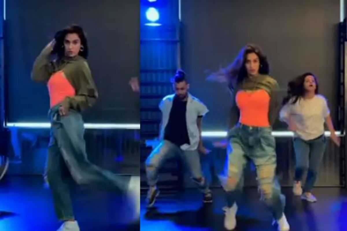 Disha Patani Flaunts Her Killer Dance Moves to Cardi B And Megan Thee Stallion