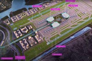 Navy Mumbai international airport map