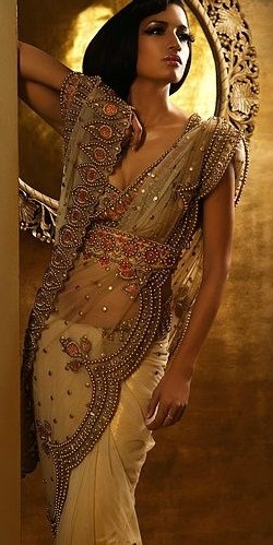 saree trends