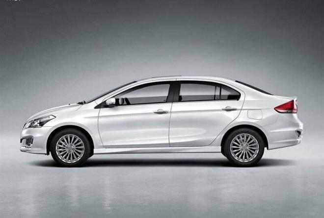 New Maruti Ciaz 2018 Facelift side view