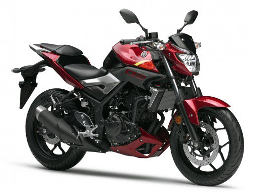 Yamaha-MT-03-Red Front