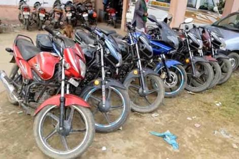Stolen bikes recoverd