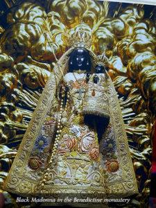 Black Madonna in the Benedictine monastery