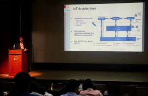 Prof Samir speaks at Developers tutorial at IISc Bangalore