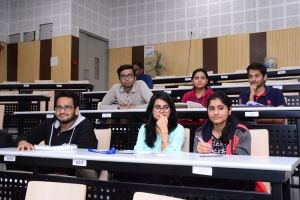 Some participants at Developers tutorial in IIIT Hyderabad
