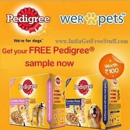 Pedigree Dog Food Free Sample