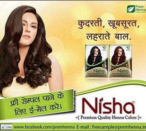 Prem Nisha Hair Henna Mehandi Free Sample