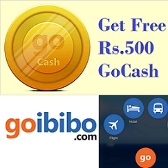 Gobibo Free GoCash Download App to Get Rs.500 Free gocash