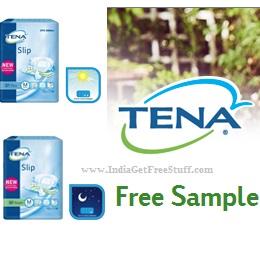 Tena Free Sample Adult Diaper Pack