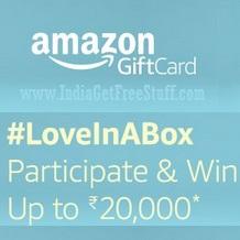 Amazon LoveInABox Contest