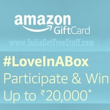 Amazon LoveInABox Contest