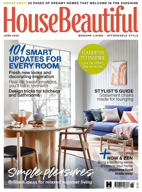 House Beautiful Magazine Uk Edition Subscription Interior Decorating