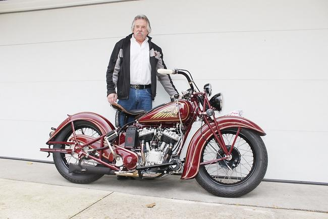 Indian Motorcycle Restoration - A Labor of Love - Indian Motorcycle ...