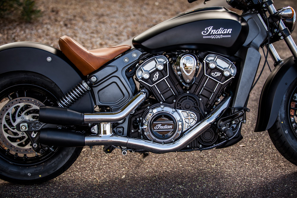 trask indian scout slip on exhaust