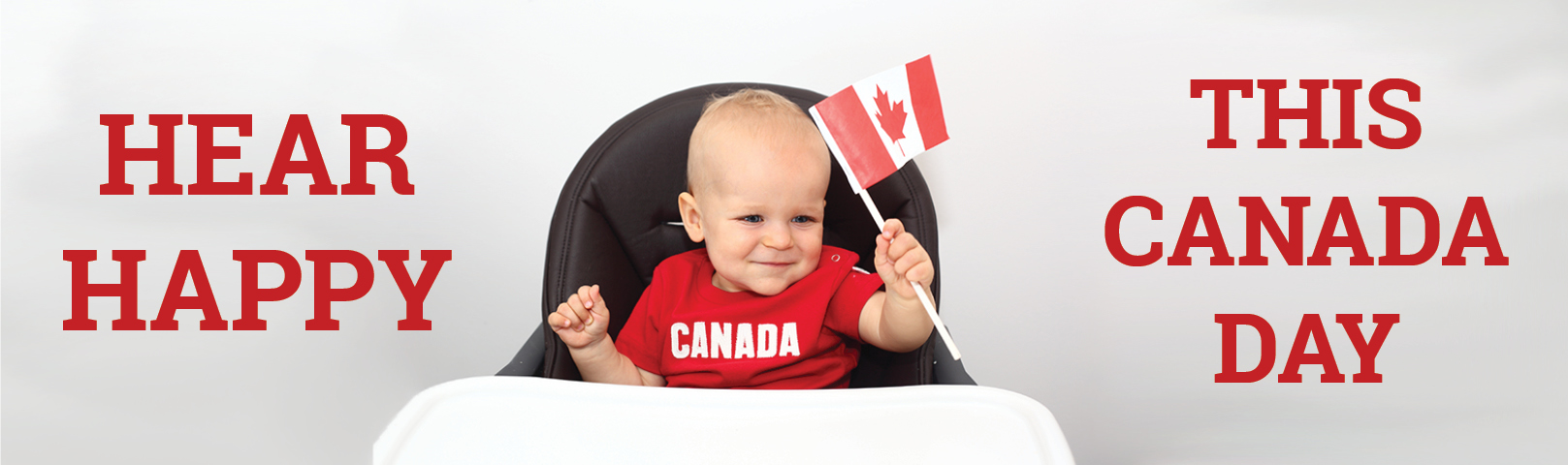 Hear Happy This Canada Day