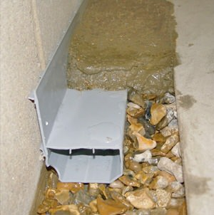 interior French drain