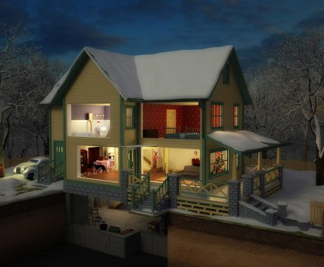 The Indiana Home That Inspired A Christmas Story
