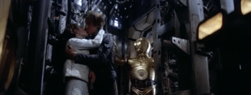 Han Leia and 3PO