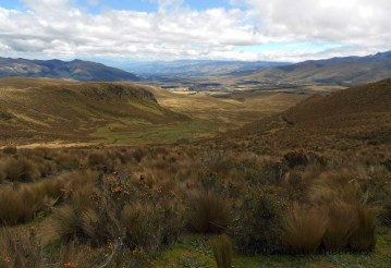 Beautiful stretch of the Andes.