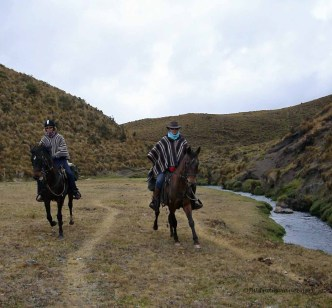 Having a little fun with Tostado in Cotopaxi national Park.