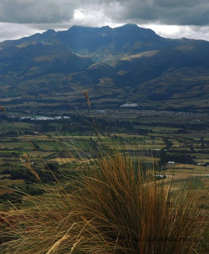 Illinizas....pair of Volcanic Mountains South of Quito.