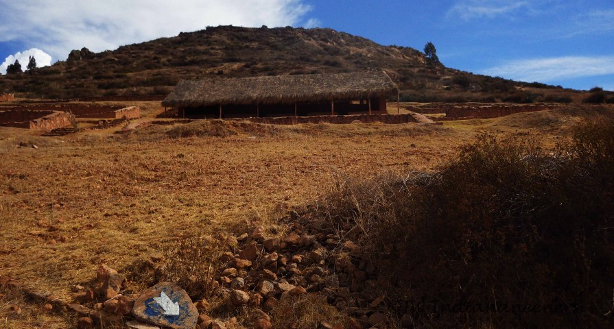 The cold-storage areas of the Cheqoq ruins.