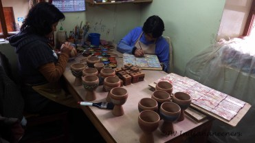 Pablo Seminario, renowned ceramicist and artist, a local legend amongst Cusquenos opened the doors of his workshop to us, filling us with the dreamy artistic creativity that exists in this special land.