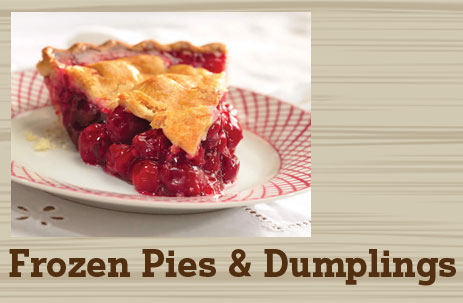 frozen pies and dumplings