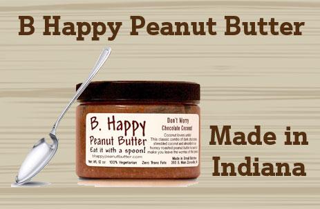 b happy peanut butter