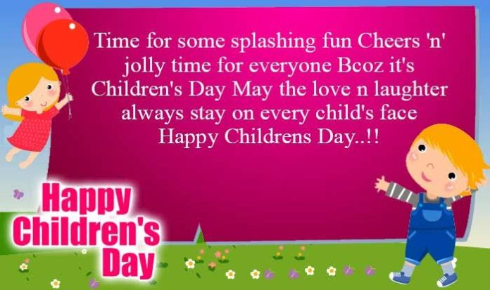 Happy Children S Day Wishes Quotes Messages Images Gif Download