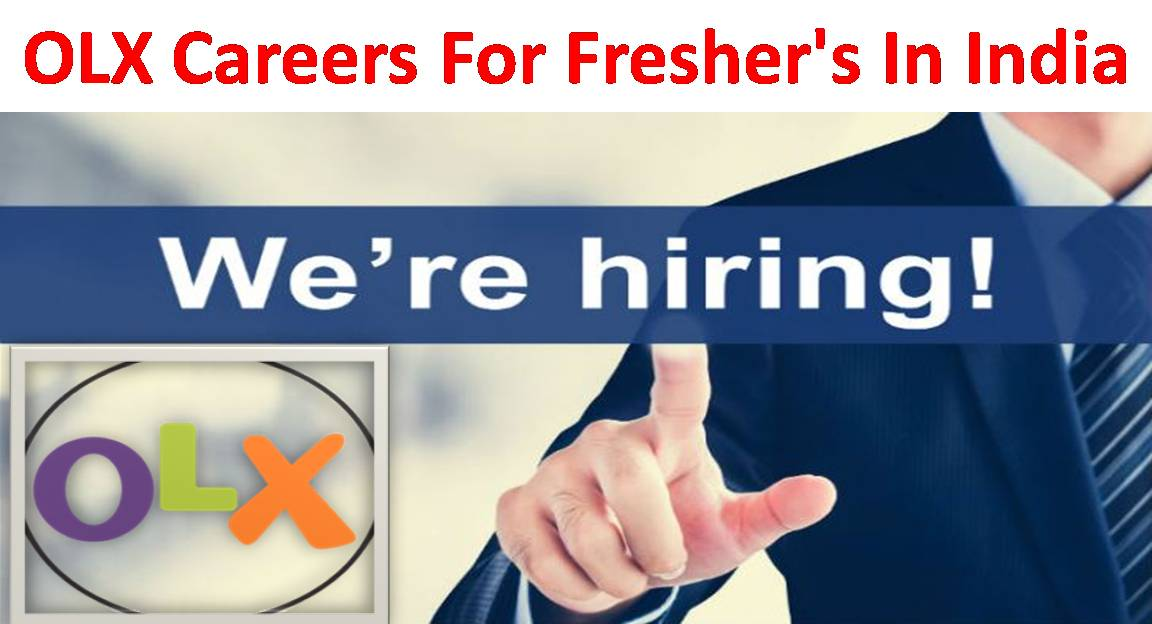 OLX Careers For Freshers UG/PG Walk In For Interview In India