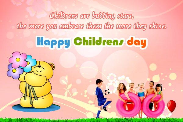 Happy Childrens Day Wishes Quotes Messages Images Gif Download