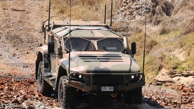 Hawkei CAustralian Dept of Defence