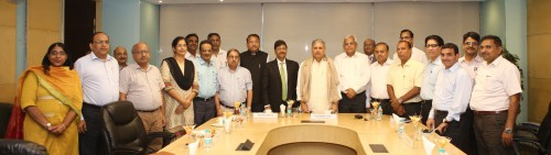 Photo - MoS UD visit to NBCC Corporate Office