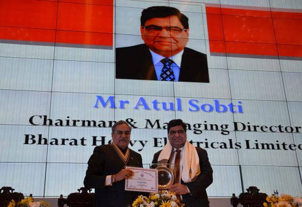 cmd-bhel-honoured-as-eminent-enginering-personality-indian-bureaucracy