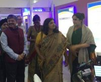 rec-showcases-garv-app-at-iitf-2016-indian-bureaucracy