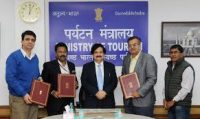 Tripartite MoU for implementation of Tourism Projects in J&K