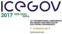 10th ICEGOV 2017 -indianbureaucracy