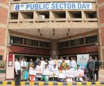AIHTM students with Principal AIHTM ITDC on the 8th PSU celebration day-IndianBureaucracy