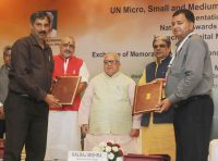 Memorandum of Understanding with SAP India, Intel and HMT