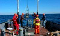 Surveying sea floor